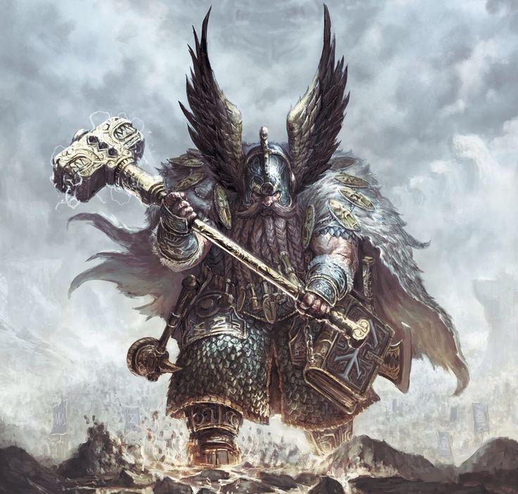 Dwarf Fighter Warrior - Pathfinder RPG PFRPG DND D&D d20 fantasy