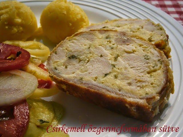 Receptek és hasznos cikkek oldala! : Csirkemell őzgerincformában sütve
