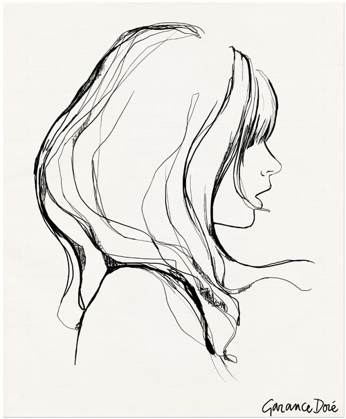 Thank you Gillian for introducing me to her... wow. Garance Doré ... check her illustrations out if you haven't already!