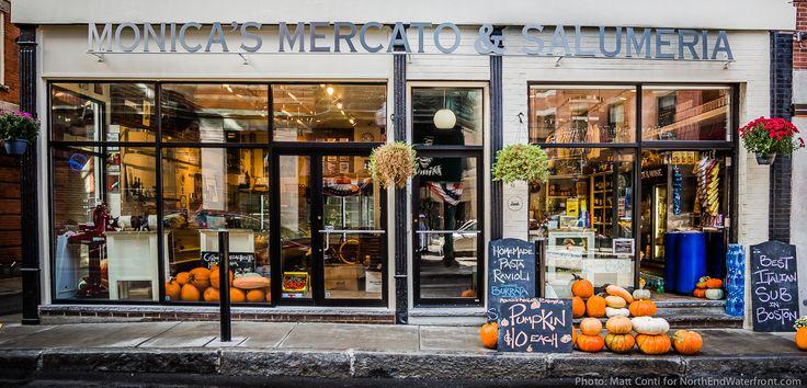 Neighborhood Photo: New Monica's Mercato & Salumeria Open for Business | NorthEndWaterfront.com