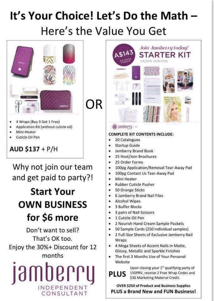 Why join Jamberry - AUS