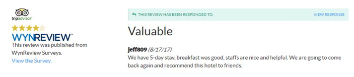 Thank you for your review of the Ramada Rockville Centre! We hope to see you again soon! #TestimonialTuesday  www.ramadarvc.com #restaurants #pubs #clubs #dancing #responsible #designateddriver #cab #driver #uber #close #easy #travel #RockvilleCentre #LongIsland #NewYork #hotel #inn #clean #comfy #cozy #value #NYC #LIRR #JFK