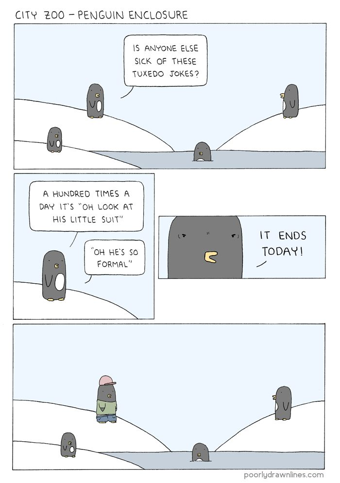 Poorly Drawn Lines – Penguin