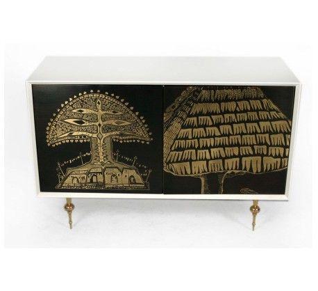 Organic Modernism Etch cabinet