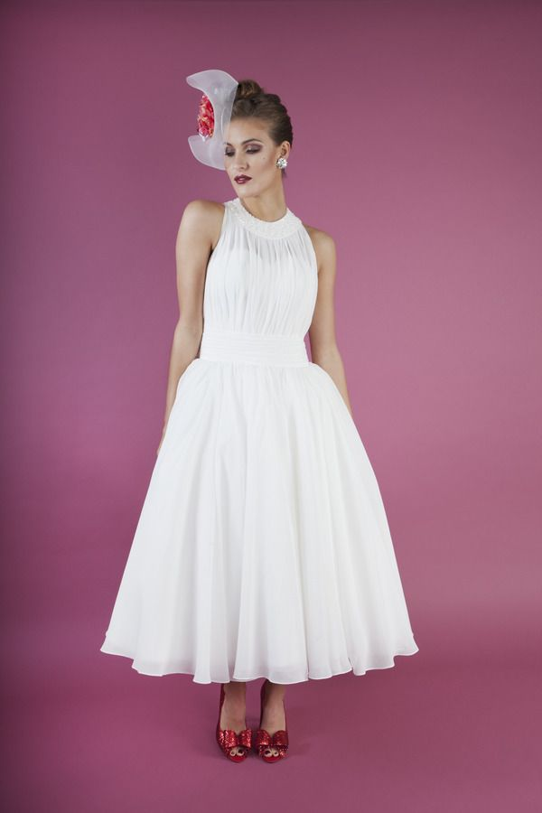 #weddingdress Berry Crush by Kitty and Dulcie, Ruby Bloom 2016 #Bridal Collection. £350