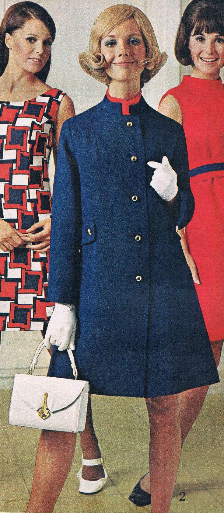 Spiegel 1969.  Cay Sanderson (in blue coat).