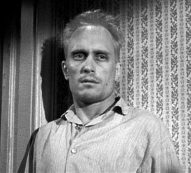 Robert Duvall in his screen debut as Boo Radley in To Kill A Mockingbird (1962)