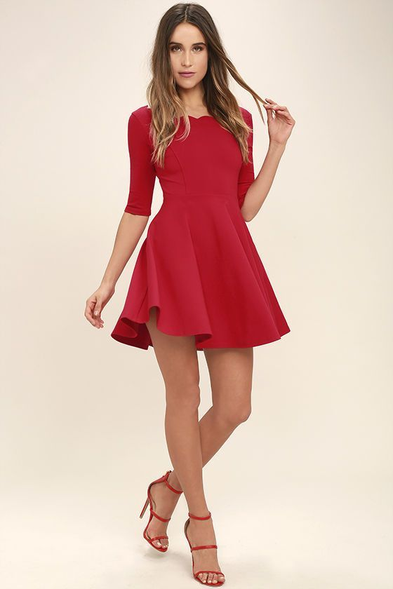 Red Cute Sweet 15 Quinceanera Dresses Img 1099 1st Dress Com: Best 25+ Cute Red Dresses Ideas On Pinterest