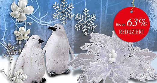 Nur noch für kurze Zeit! Entdecken Sie passend zu Ihrer #Winterdeko viele neue #Schnäppchen in unseren #Sonderangeboten des Monats! Bis zu 63% #reduziert! #SALE http://www.decowoerner.com/de/Aktuelles-11321/Angebote-des-Monats-11492.html