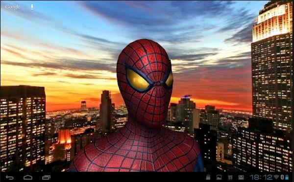 Consigue los wallpapers de Spider-Man en 3D