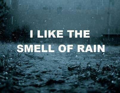 So fresh & clean & I love walking in a warm summers rain.