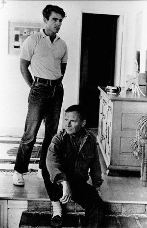 Don Bachardy and Christopher Isherwood, Photo by Florence Homolka, 1962