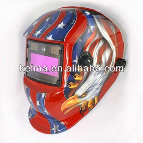 Colourful Auto darkening welding helmet KE-1110 series