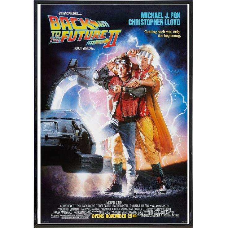 Back to the Future 2 Film Poster Print | Películas en ...