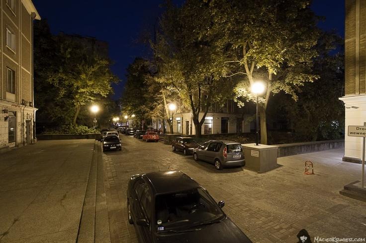 Gałczyńskiego ST by night