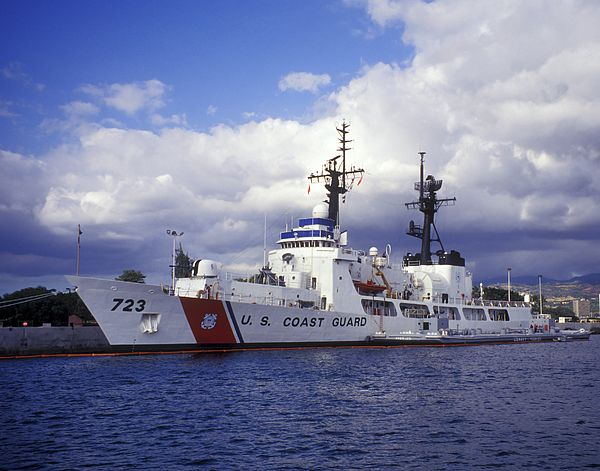 United States Coast Guard Cutter Rush by Michael Wood
