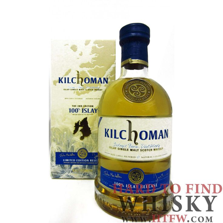 Buy Kilchoman 100% Islay 2nd Edition 3 year old Whisky Online | HTFW