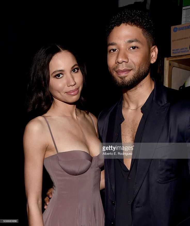 Actress Jurnee Smollett-Bell (L) and actor Jussie Smollett attend the 47th NAACP Image Awards presented by TV One at Pasadena Civic Auditorium on February 5, 2016 in Pasadena, California.