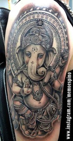 shoulder tattoo, ganesh - Google Search