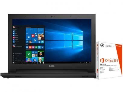 """Notebook Dell Inspiron 14 I14-3442-C40 Intel Core - i5 8GB 1TB LED 14"""" + Pacote Office 365 com as melhores condições você encontra no Magazine Lopesmarinho. Confira!"""
