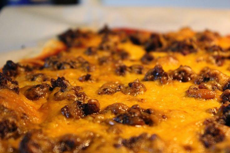Fiestada—Taco Pizza                          School pizza !!!! What? WHAT?!!!