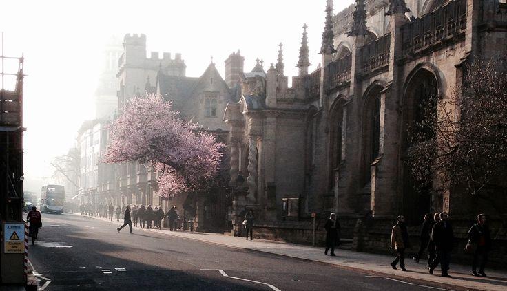 #Oxford in the spring