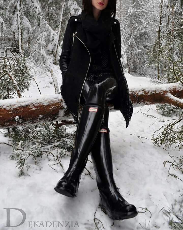 99 best images about Chic Rubber Boots for Women on ...