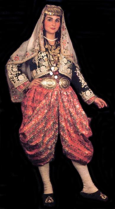 Turkey traditional attire pictures | Traditional Turkish Clothing for Women