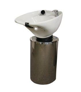 Montego Pedestal Backwash System with White Bowl