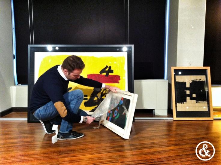 ¿Queréis disfrutar de obras de #Picasso o #Miró? Pues no os perdáis la próxima exposición de Espacio Fraile y Blanco!