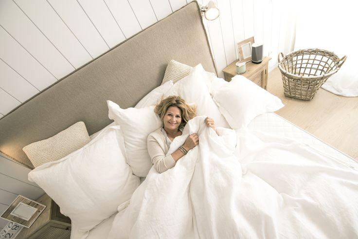 SEAWASHED interior design Carde Reimerdes Bed: Design by Seawashed  Linen: 100% Linen produced in denmark for SEAWASHED