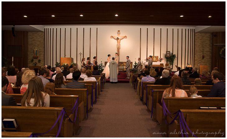 St. Jerome Catholic Church Columbus WI Wedding Photographer