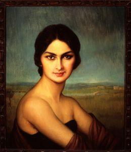 Julio Romero de Torres. Portrait of a Woman, ca. 1925. Oil on canvas. Perez Simon Collection. (Photo: Business Wire)