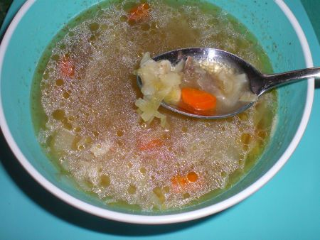 Bibianne's French Canadian Cabbage Soup