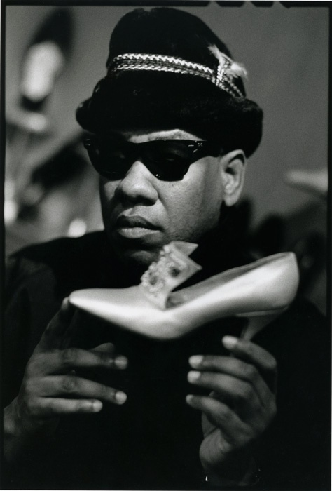 Andre Leon Talley for Ray Ban (Bausch and Lomb). Photo: William Waldron.