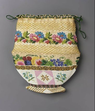 Bag French ca. early 19th Century