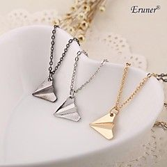 Necklace Pendant Necklaces Jewelry Daily / Casual / Sports Adjustable Alloy Gold / Silver 1pc Gift