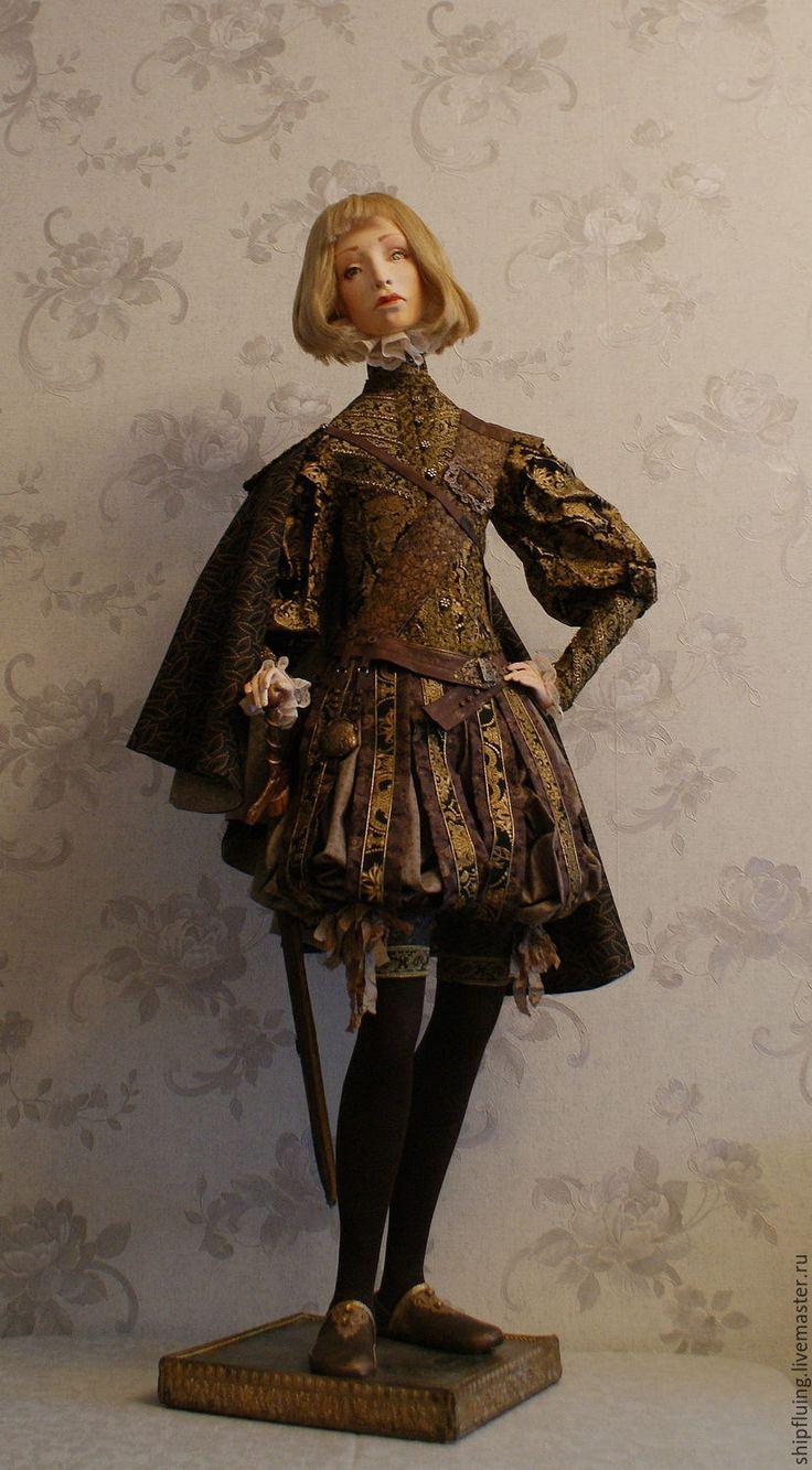 Купить Себастьян, рассмотрю возможность продажи! - комбинированный, Декупаж, винтаж, ткани, пастель, интерьер, кабинет