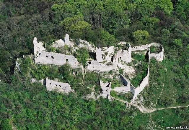 ruins of Plavecky Castle
