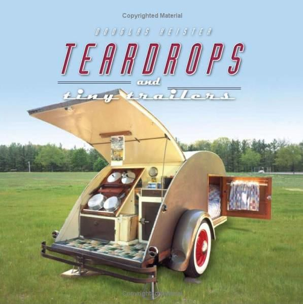 This 'teardrops and tiny trailers book' is the perfect thoughtful gift for the camper enthusiast in your life! Shop more gift ideas from Teardrop Shop online.
