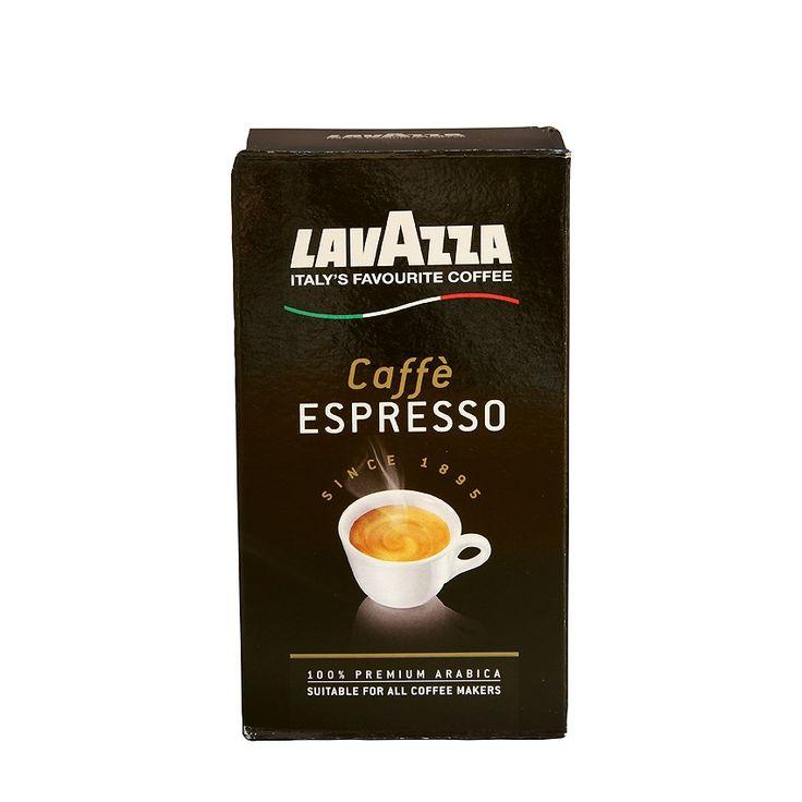 Lavazza Black Pack Espresso gemalen koffie - Gemalen 100% arabica koffie sterk gebrand en heerlijk van smaak