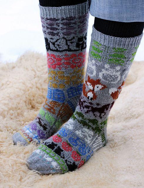 Ravelry: Talvi's My Favorite Things (Advent Calendar Socks 2014)