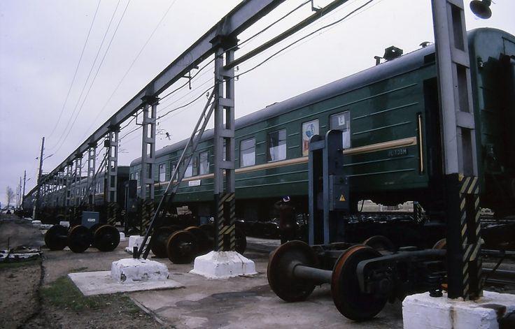 Udvalgte fotos fra Den Transsibiriske Jernbane på www.jernbanen.dk