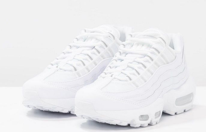 half off f6b82 e8c37 ... zalando france nike sportswear air max 95 baskets basses white pure  platinum 03135 311d1