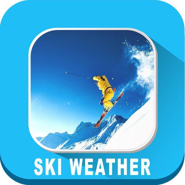#NEW #iOS #APP Ski Weather forecast HD - VIDUR