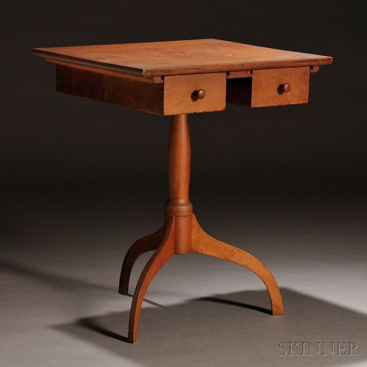 Shaker Maple and Cherry Stand | Sale Number 2731M, Lot Number 66 | Skinner Auctioneers Sold $52,275