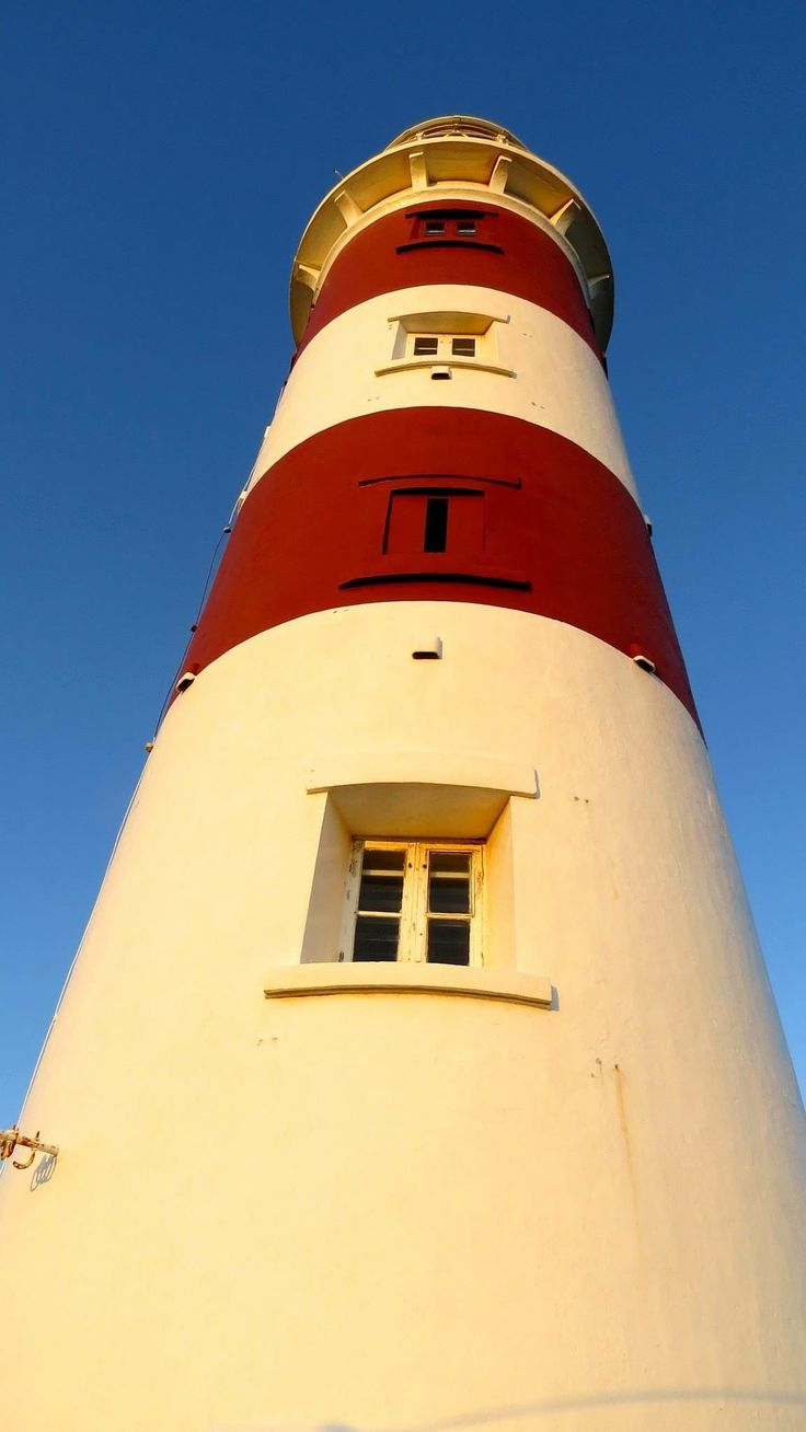 Pointe aux caves lighthouse in Albion Mauritius on the west coast. Inaugurated in 1910 and still in use. 30m high.