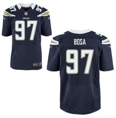 Men's NFL San Diego Chargers #97 Joey Bosa  D.Blue Elite Jersey