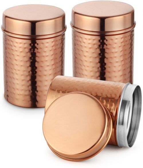Classic Essentials  1000 ml Stainless Steel Multi-purpose Storage Container  (Pack of 3 Brown) At Rs.249 From Flipkart