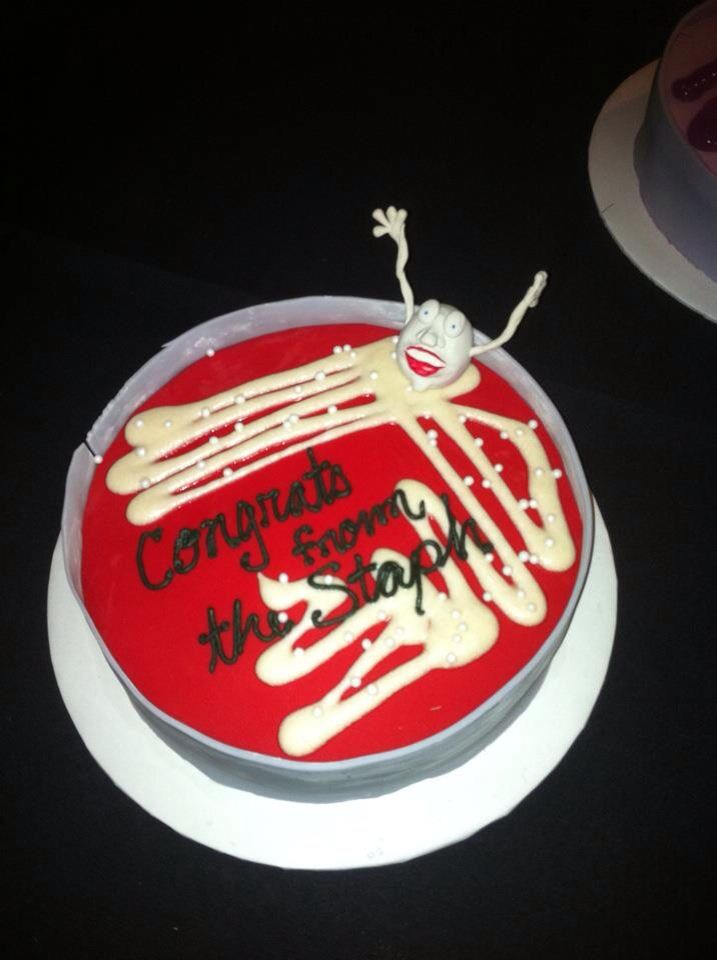 Lab cake done by Jessica Barks #microbiology #staph